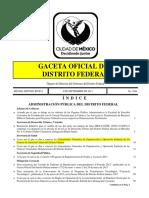 Lineamientos Generles de Organización y Operación Sanitaria de Los Centros de Atención Canina Del Distrito Federal (2013)