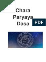Chara Paryaya Dasa Phalita Dasas