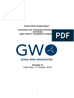 Gwo Criteria for Training Providers Version 5 September 2016pdf
