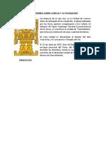Breve Reseña Sobre Cuenca y Su Fundación
