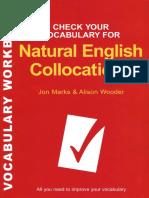 Netural English Collocations