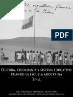 Cultura,Ciudadania y Sistema Educativo Cuando La Escuela Adoctrina
