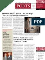 PSR Reports Fall 2009