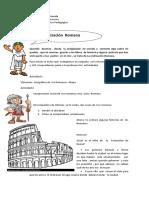 3º Básico Historia Guía Resumen Civilización Romana