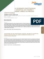 o Preâmbulo e as Sociedades Constitucionais - Humberto Lima de Lucena Filho