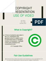 copyright presentation tori sinco
