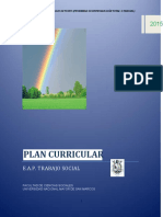 Propuesta Plan Curricular 2015