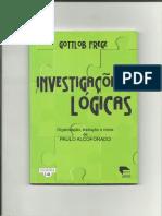 Alcoforado, Paulo - Investigações Lógicas - Gottlob Frege