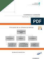 TALLER Coherencia Cohesión Conectores