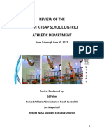 SKSD Athletic Department Review Report