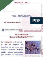 Tema 9.2 Metalografia