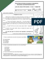 Avaliação de Língua Portuguesa - 4º Ano