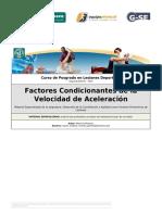 C-2 Factores Condicionantes de La Velocidad de Aceleración