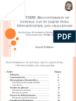 Bioconversion of Natural Gas to Liquid Fuel. Opportunities and Challenges - IsRAEL POBLETE