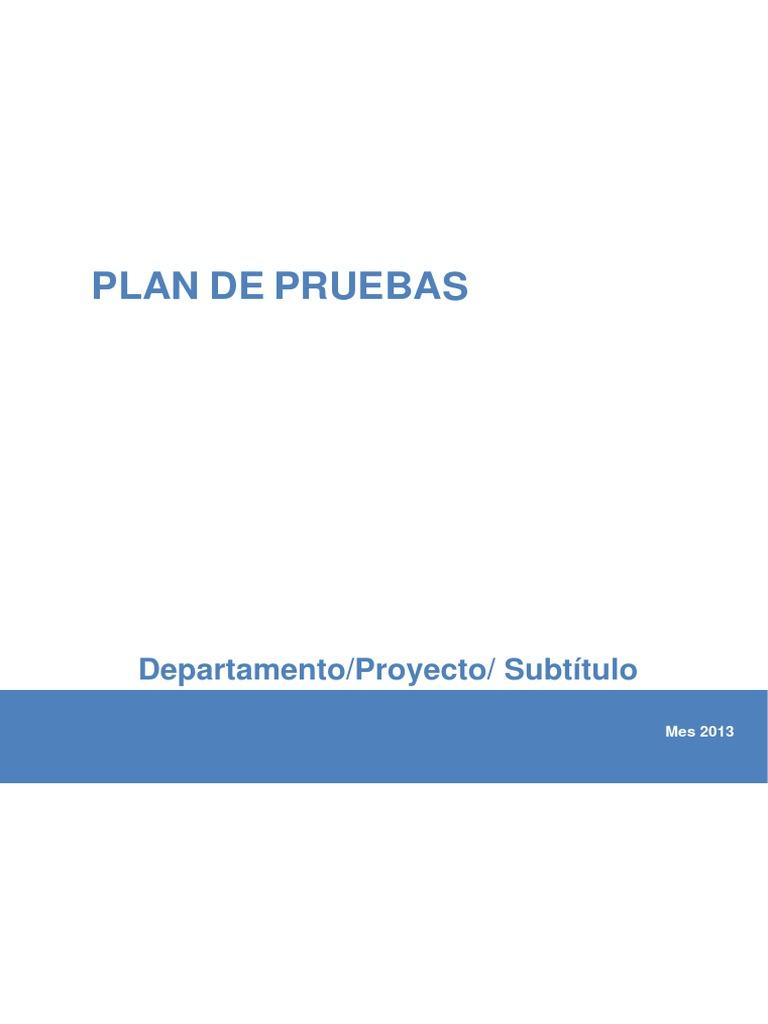 Plantilla Plan de Pruebas.doc