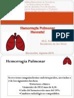 Expo Hemorragia Pulmonar