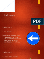 Locuciones Latinas - Linguisticas 1
