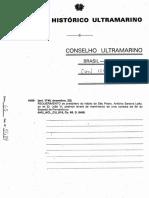 Alvará de Mantirtiento de Urna Conezia Da Sé DojBispado de Pernambuco