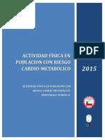 Actv. Físicaen Población Con Riegocardio-metabólico CAPITULO 1