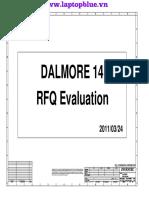 Schematics Dell Latitude XT3 Dalmore14-RFQ-6050A2413801-MB-AX1 0324
