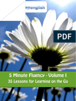 5 Minute Fluency - Volume I