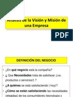 Unidad 2 La Visión y La Misión de La Empresa