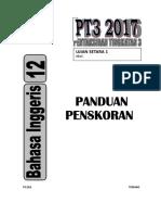Marking Scheme Ujian Setara 1 Pt3 2017 (p12a2)