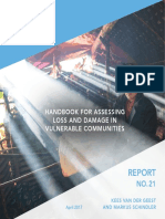 UNU Report No 21 - Handbook for Assessing Loss & Damage in Vulnerable Communities - April 2017