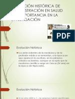 Evolución Histórica de Administración en Salud y Su