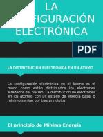 La Configuración Electrónica
