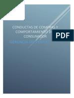 Conductas de Compras y Comportamiento Del Consumidor[1]
