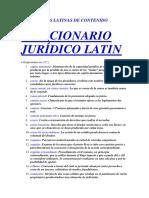 Diccionario Latin - c