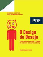 O design do desejo