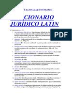 Diccionario Latin - d