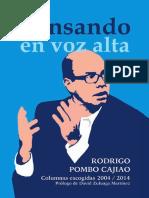 Rodrigo Pombo Columnas de Opinion