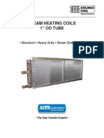 Engineering Bulletin 1 Inch Steam Heating Coils