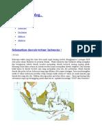Selamatkan Daerah Terluar Indonesia !