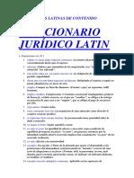 Diccionario Latin - e