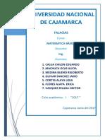 Informe Final de Falacias