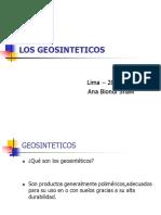 Los Geosinteticos