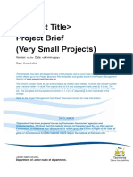 Task 1 Project Management Template