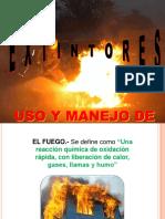 EXTINTORES CHARLA DE SEGURIDAD.