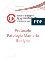 Protocolo Patologia Mamaria Benigna