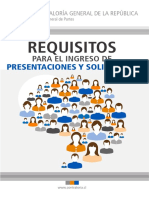 Requisitos presentaciones