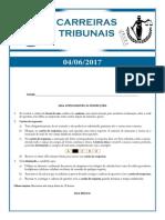 #Simulado TJSP - Carreiras Tribunais - Alfacon - 04-06-2017