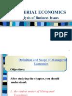 Managerial Economics - 2