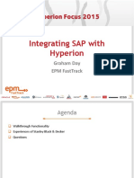Integrating SAP With Hyperion Peter Day FastTrack1