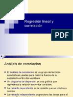 regresion lineal y correlacion