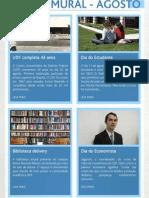 Jornal Mural Online - Agosto 2010