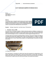 Application of Turned Mass Dampers for Bridge Decks